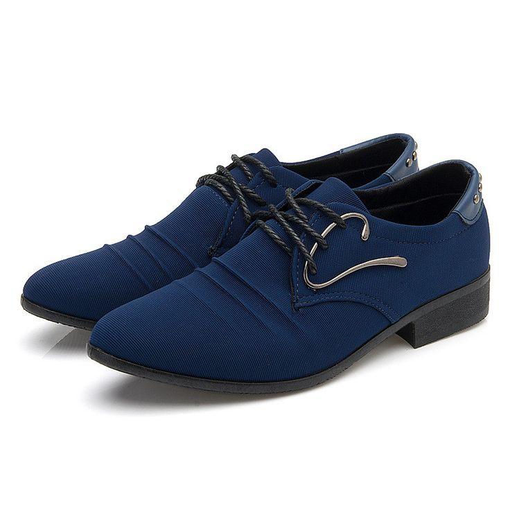 Fashionable Lace Up Men'S Dress Shoe