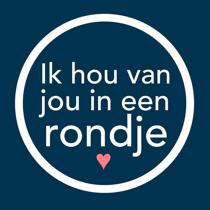 Ik hou van jou in een rondje ❤️