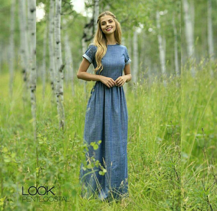 Обычное Платье Целомудренной Женщины Из Вк