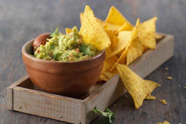 Guacamole mit Tortilla-Chips - Rezepte | fooby.ch