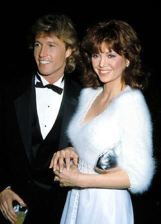 Andy Gibbs and Victoria Principal