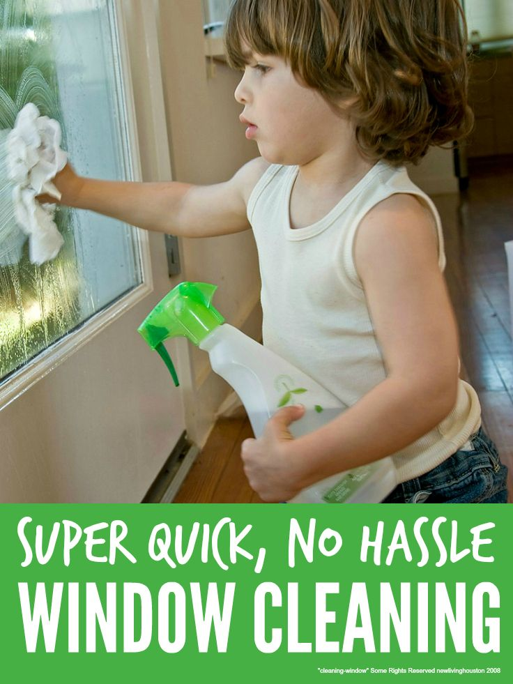 With these super simple tips you really can clean windows quickly and naturally without loads of chemicals or fancy equipment ...
