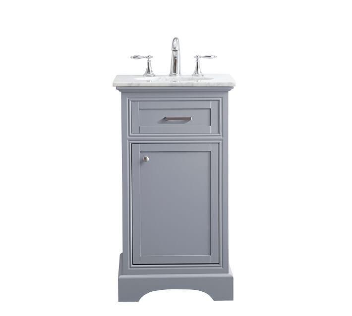 Warner 19 Single Sink Vanity In 2021 Bathroom Vanity Single Bathroom Vanity Diy Bathroom Storage 19 inch bathroom vanity