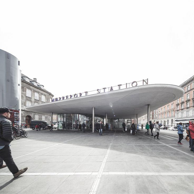 Nørreport Station, Copenhagen, Denmark by COBE Architects