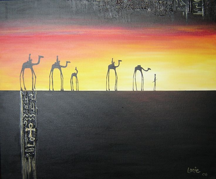 Egyptian art by Lanie Wilton