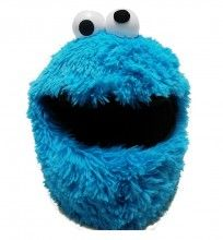 Cookie Monster Motorcycle Helmet Cover