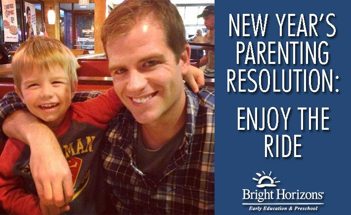 One mom's New Year's Parenting Resolution: Enjoy the Ride