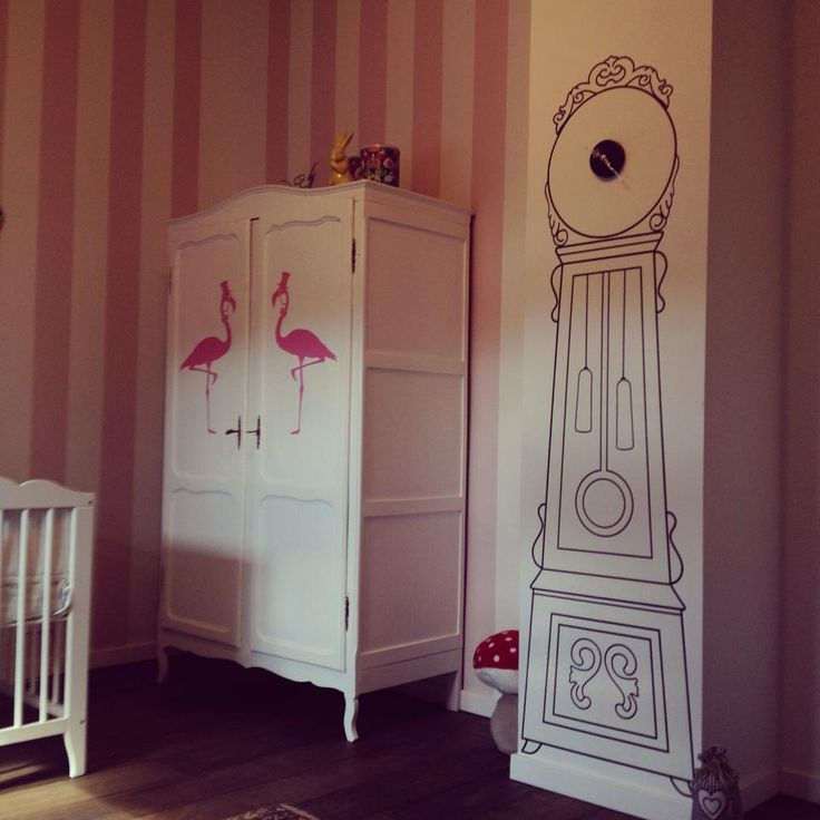 Kinderkamer - babykamer - alice in wonderland