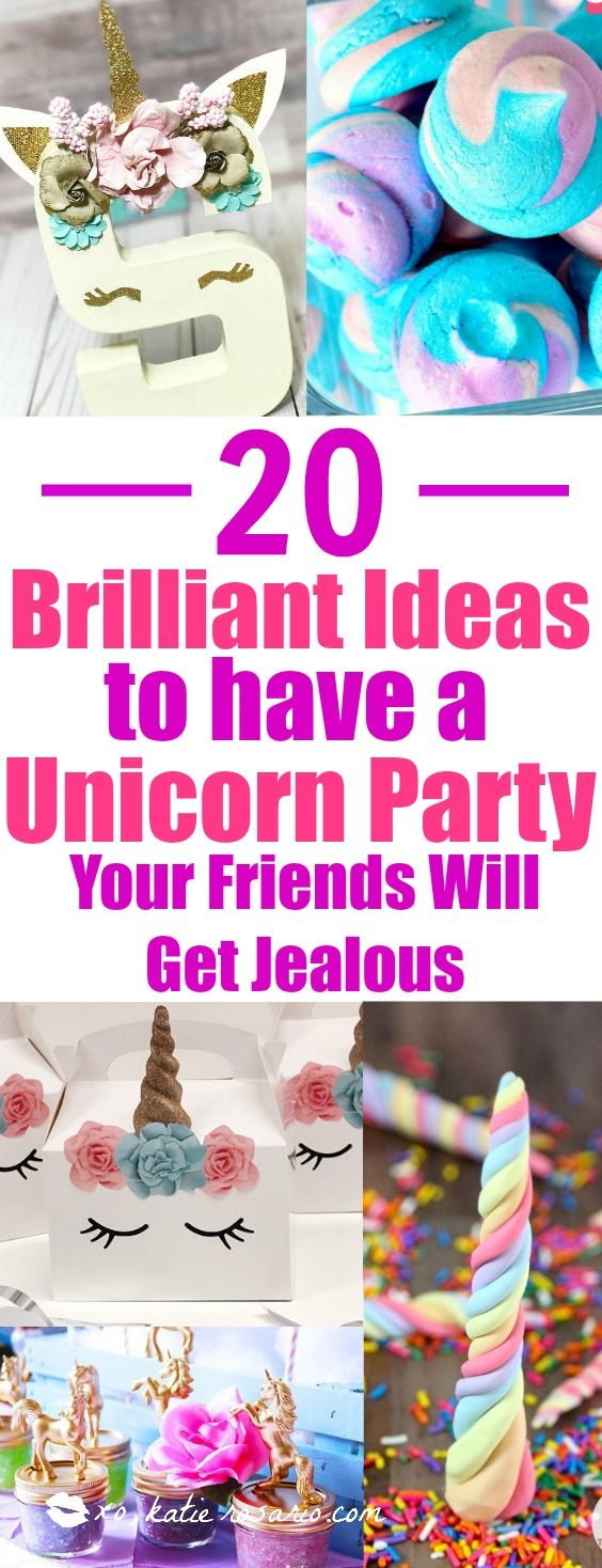 Unicorns are so in right now! I love that you can have a magical birthday party at any age. These DIY ideas are so easy to make. Have your own party with unicorn desserts, drinks and decorations! This is a must try for any age! Unicorn love!
