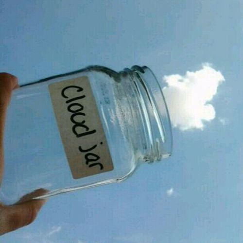 I want to catch clouds....and rainbows and dreams and wishes....