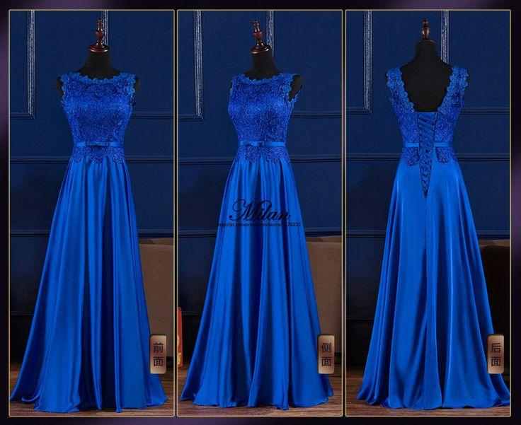 Wedding Dress With Royal Blue Color : Best royal blue bridesmaid dresses ideas on