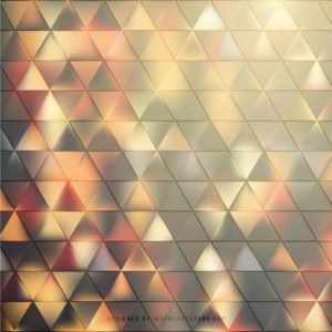 Green Triangle Background #freevectors