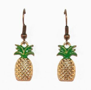 Assure your accessories are fresh and full of flavor with these sweet pineapple earrings! The perfect supplement for your ensemble to give your day a dose of delightful.  #pineapple #fruit #gold #earrings #kitsch #quirky #lavish #accessories #rockabilly #fashion #retro #fabulous Available from Lavish Accessories on Ebay.