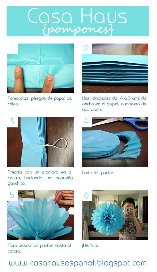 Pompones tutorial... @Edie Tunstall and @Casey Tunstall these are something both Casey and I plan on using in our weddings! It seems simple for us to be able to do!