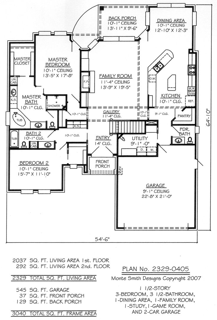 Deer Camp House Plans House Interior