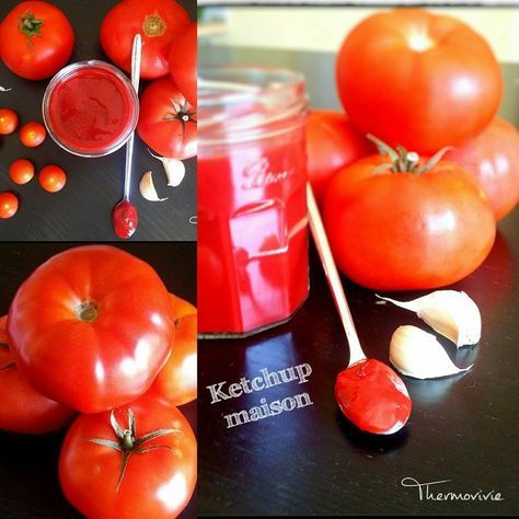 Ketchup maison au thermomix