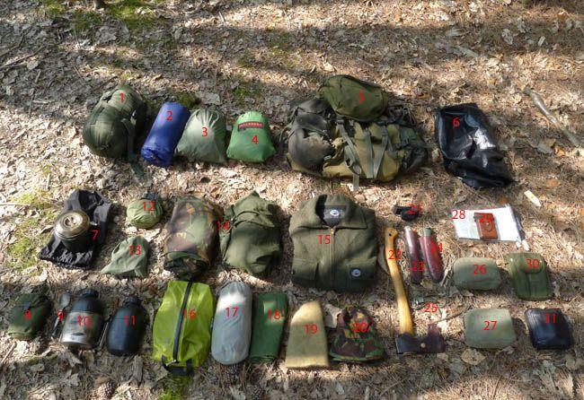 Bushcraft Camping Equipment