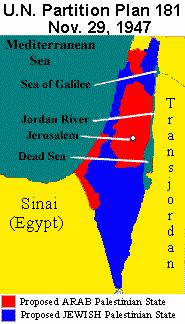 History of Palestine :1947 U.N. Partition Plan