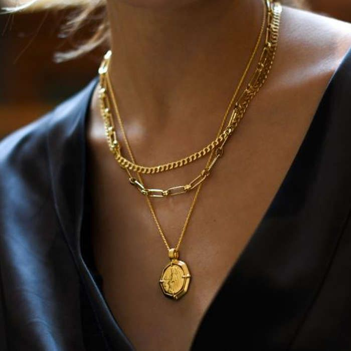 10 Best Black Friday Staff Picks In 2020 Chunky Gold Jewelry Fashion Necklace Gold Necklace Layered
