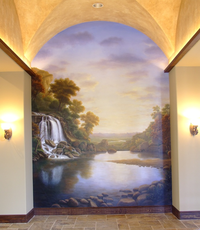 77 best images about trompe l oeil murals on tuscany decor garden mural and