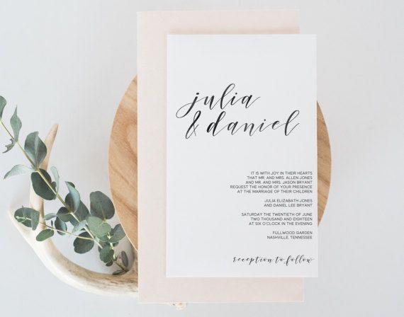 Inviti di nozze, inviti di nozze stampabile, moderni inviti, inviti matrimonio minimalista, inviti di nozze dell