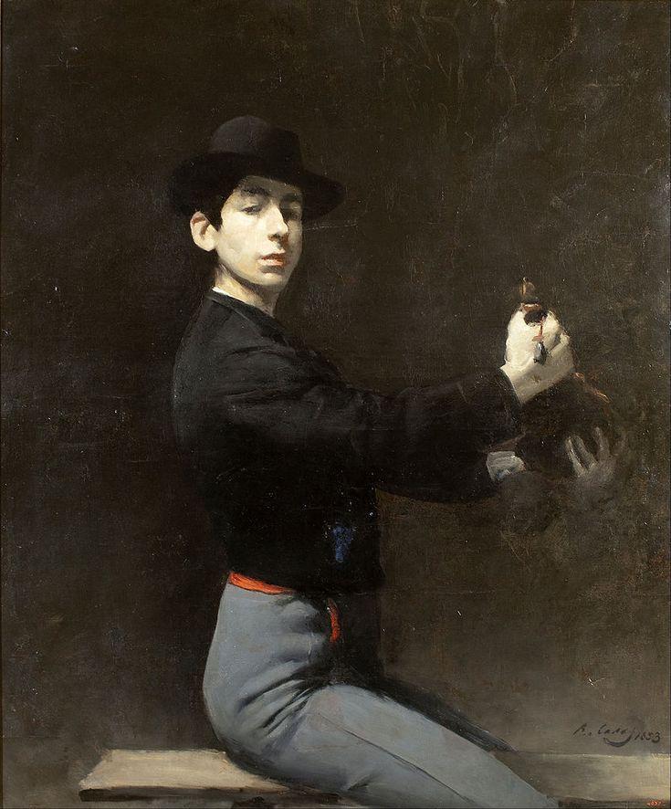 Self-Portrait (Ramon Casas y Carbó - )