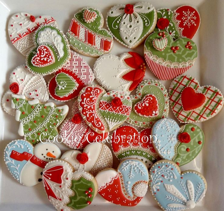 608 best Christmas Cookies images on Pinterest | Decorated cookies ...