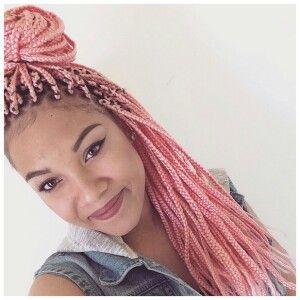 Light Pink Box Braids Box Braids Locs Amp Twists