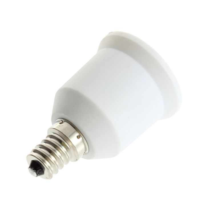 Hot 1pcs E12 To E27 Light Bulb Lamp Holder Socket Adapter Converter