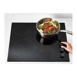 IKEA - LAGAN HGC3K, Table de cuisson vitrocéramique, Témoin lumineux de chaleur résiduelle pour une plus grande sécurité. Une fois éteint, il n'y a plus de risque de se brûler.Surface lisse en verre trempé, facile à entretenir.