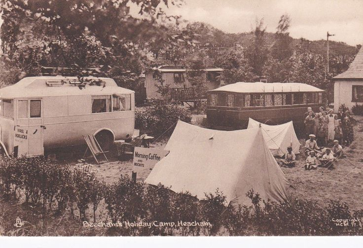 Beechams Holiday Camp Heacham.fab. mordern caravans.virol and horlicks for sale | eBay