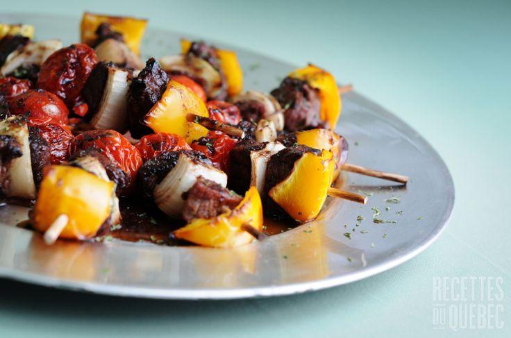 Marinade et sauce pour brochette de #boeuf