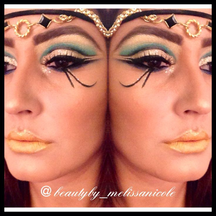 (153) Egyptian makeup... Okay not for really wearing out but reminds me of a late sunset in Egypt   Make up. Don't Break Up.   Pinterest