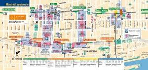 plan souterrain montreal