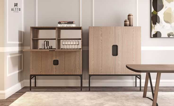 ALTTO | CLOVER | Tall Cabinet | Not only practical, but definitely a unique piece in any contemporary interior design project