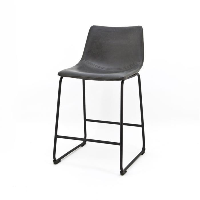 By-Boo barstoel Logan zwart laag  Description: De By-Boo barstoel Logan zwart laag zorgt in ieder interieur voor een klassieke uitstraling. Deze barstoel biedt een aangename zithouding dankzij de rugleuning. De stoel is afgewerkt met een vierpootframe en is voorzien van een tussenframe waarop je voeten prima uit kunnen rusten. Het formaat van deze barstoel is gewijzigd naar: 47x53x91 cm lxbxh. De zitdiepte is 36 cm en de zithoogte 65 cm.  Price: 109.00  Meer informatie  #woononline