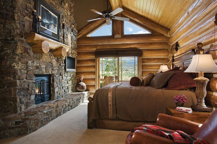 Master Bedroom in the Tetons