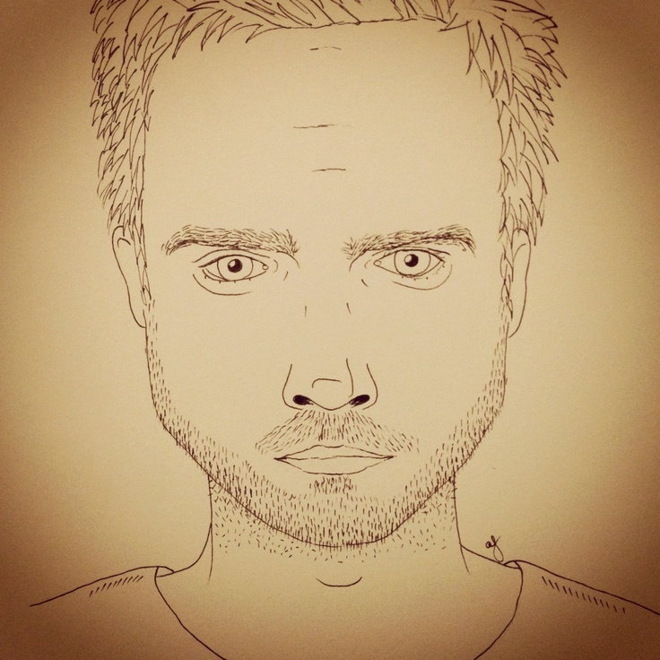 #illustration of #jesse from #breakingbad by #herelivesamanda