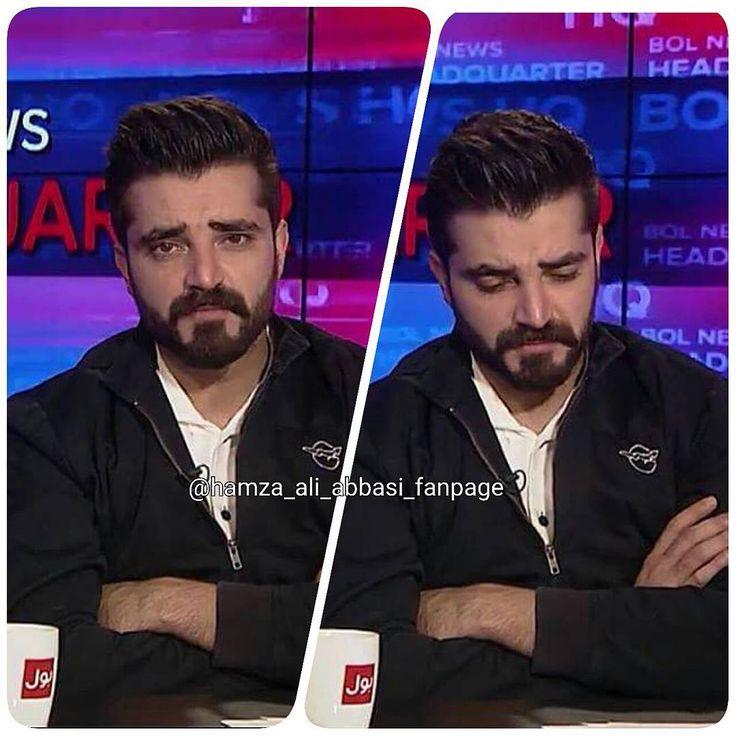Describe Hamza as a host 📺🌼 I think Bol news headquarters is logically most fantastic show 💕🌼 #Hamzaaliabbasi #bae #black #slays #perfecto #adorable #themlooks #damnhamza #haafamily #hamzalians #myinspiration #motivation #bestest #superb #patriotism #bol#bestshow #informative ##nogreed#bestcelebrity #latest
