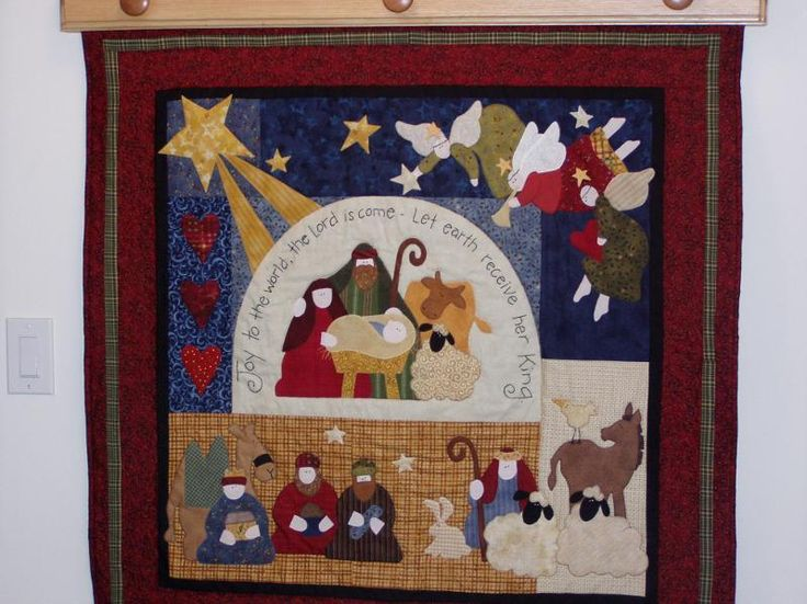 I love Christmas. And I love this quilt!