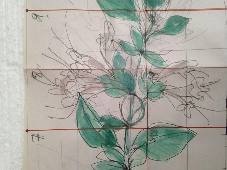 Proyecto para azulejos.  Marta Day.
