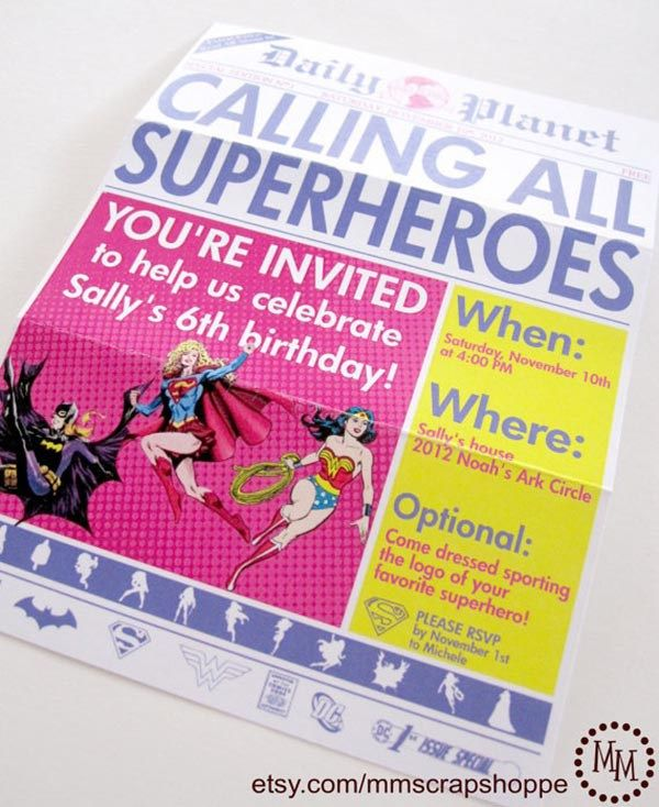 Best 25 Girls party invitations ideas – Girls Birthday Party Invite