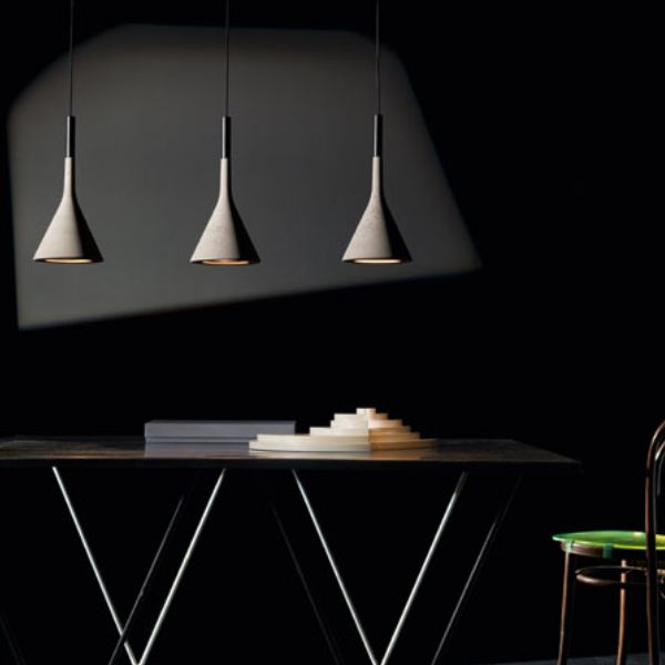 Aplomb Foscarini #Design #interior #blackinterior #homedecor #lamp