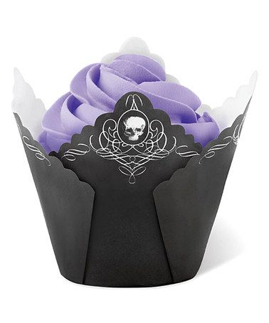 Take a look at this Pleated Skull Bake Cup - Set of 30 by Wilton on #zulily today!
