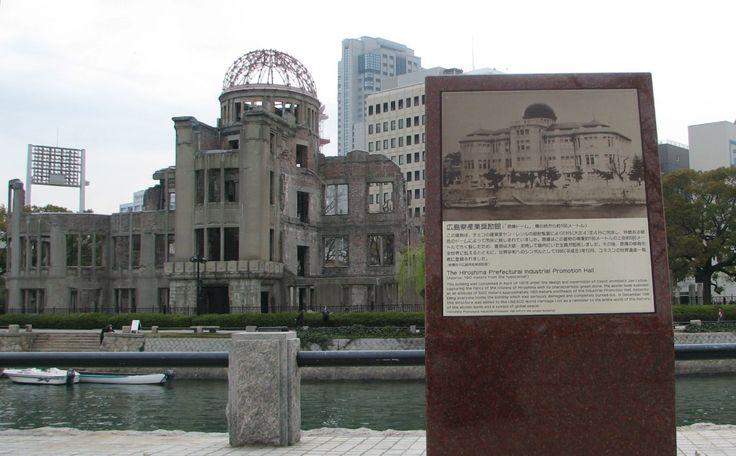 廣島和平記念資料館,原子彈爆炸逝世者紀念碑,原子彈爆炸兒童記念碑燈,除了追悼當時的逝世者之外,也有許多人們表達祈望和平的建築物及紀念碑。