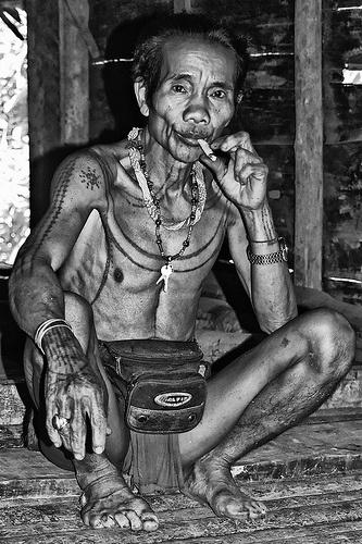 Mentawai Shaman
