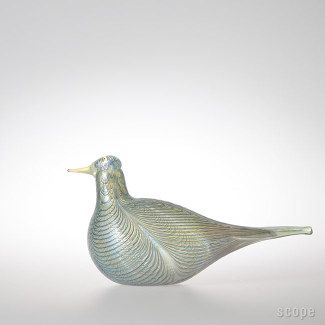 """Oiva Toikka iittala """"Cloud Tern"""" Annual bird 2007"""