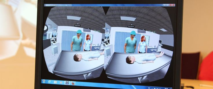 VR hospital simulations for training