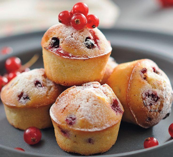 Mini-moelleux aux fruits rouges