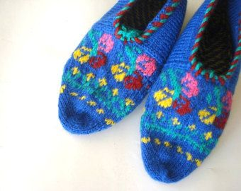 knitted slippers womens slippers black and white geometric